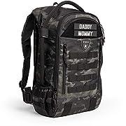 TBG - Mens Tactical Diaper Bag Backpack w/Built-in Changing Mat, Stroller Strap