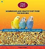 Fine Grain Fine Diet Bird Food for All Budgies Mix Seeds, 1 KG