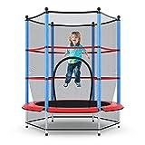 "Giantex 55"" Round Kids Mini Jumping Trampoline W/ Safety Pad..."