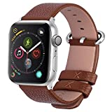 15 Colors for Apple Watch Bands, Fullmosa Yan Calf Leather Replacement Band/Strap for iWatch Se…