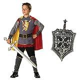 Tapferer Ritter Kinderkostüm - Grösse: 122-128cm