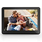 CAMKORY 10 Inch WiFi Digital Picture Frame with HD IPS 1920x1080 Widescreen LED Photo Frame with 1080P Video, Auto Rotate 8GB Internal Memory, Wall Mountable, Support SD Card and USB