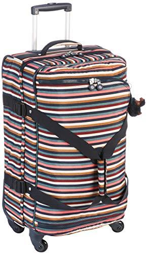 Kipling CYRAH M Equipaje de mano, 69 cm, 71 liters, Varios colores (Multi Stripes)