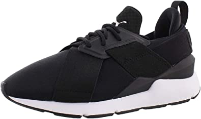 PUMA Unisex-Adult Muse Satin En Pointe Wn Sneaker