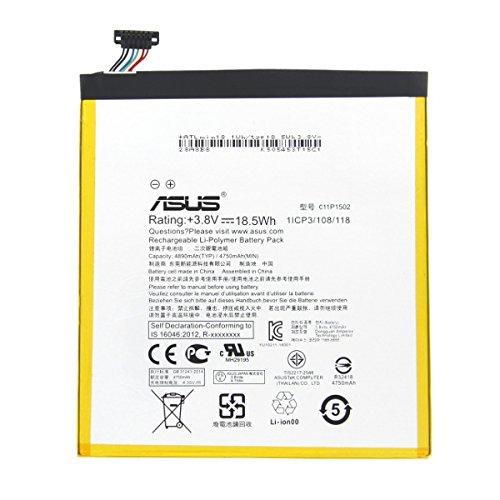 Akku ASUS ZenPad 10 Z300 C P023 C11p1502 4750 mAh Ersatzakku Original