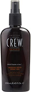 AMERICAN CREW by American Crew SPRAY GEL MEDIUM HOLD 8.45 OZ (Package of 2)