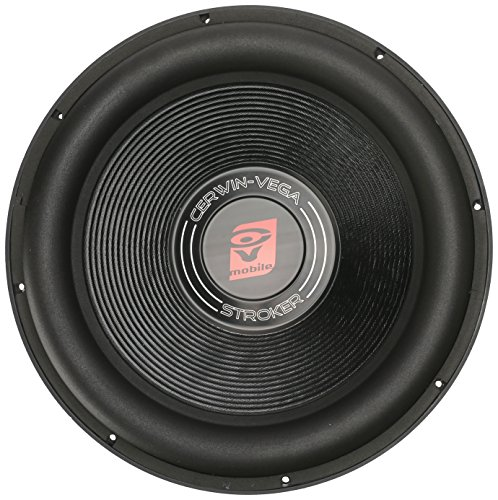 Cerwin-Vega ST152D Stroker 2400 Watts 2 Ohms/1200Watts RMS Power Handling Max 15-Inch Dual Voice Coil