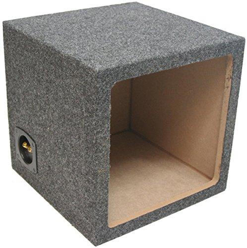 Car Audio Single 12' Sealed Square Sub Box Enclosure fits Kicker L7 Subwoofer