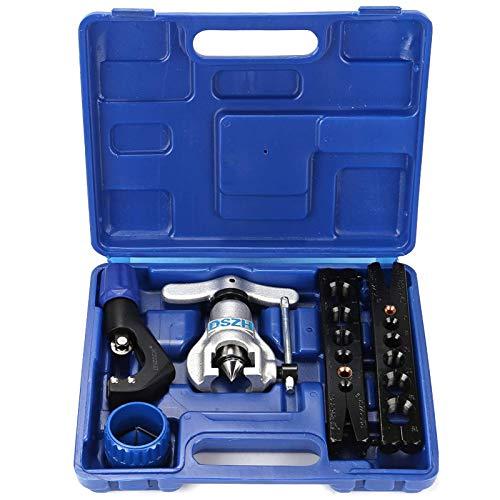 LGYKUMEG Klimaanlage Bördelgerät, Flaring Tool Pipe Bending Pliers Brake Line Flaring Tool Set Air Conditioning for Various Lines,A