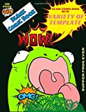 Blank comic book with variety of template supper frog ever 120 pages: Express Your Kids Talent and Creativity with This various templates Comic Sketch ... skills activities for toddlers publishing)