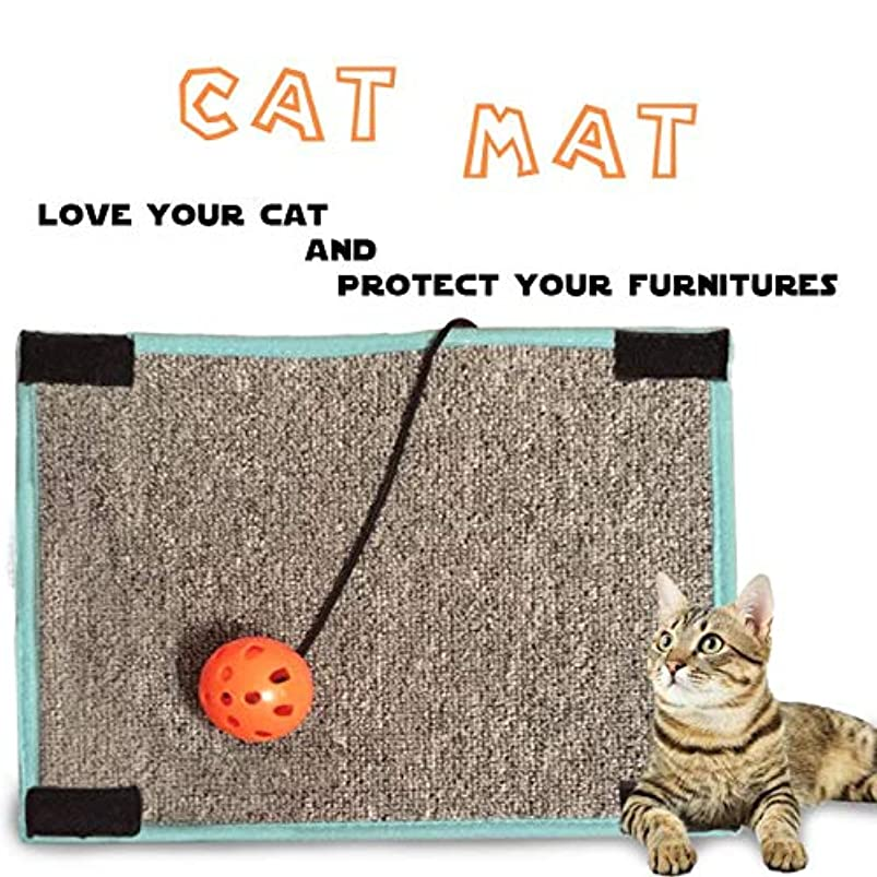Cat Scratching Mat. Cat Scratcher Furniture Scratching Protector - Table & Chair Legs Wrapping Around Scratching Protection. joclhbuq891020