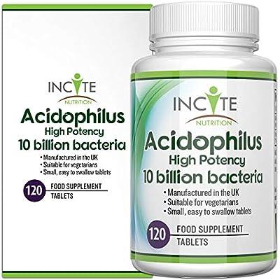Incite Nutrition Probiotics Food Supplement, 120 Tablets from Incite Nutrition