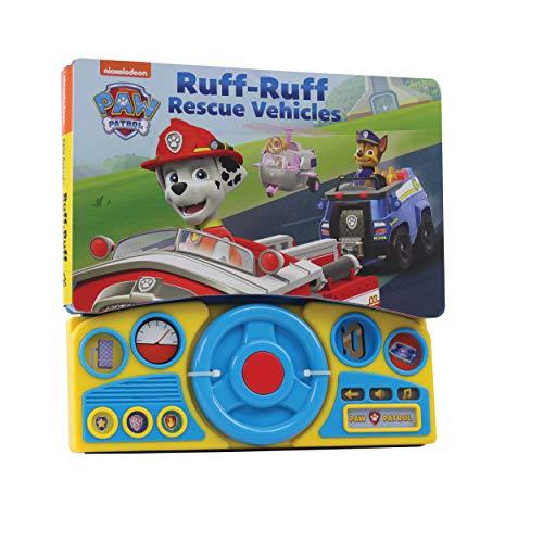Nickelodeon PAW Patrol - Ruff-Ruff Rescue Vehicles Steering Wheel...