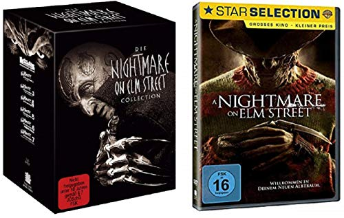 Nightmare on Elm Street 1-7 Uncut Box Collection Edition [7 DVDs] + A Nightmare on Elm Street [DVD]