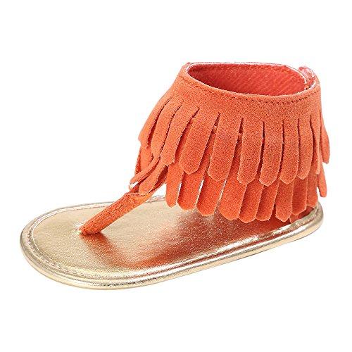 Sandales Bébé Fille, Manadlian 2018 Nouveau Chaussures de Princesse Sandales de Bébé Baskets Antidérapantes Mode Sandales à Franges Filles