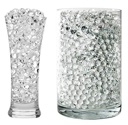 Onwon 20000 Pieces Crystal Soil Water Bead Gel, Floral Water Pearls Gel Soil Water Crystal Beads for Wedding Decoration Vase Fille, Candles, Plants, Education