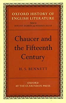 Hardcover Chaucer and the fifteenth century (Oxford history of English literature) Book