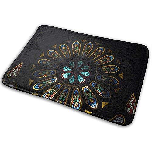 Liumt rutschfeste Innentürmatte Montreal Notre Dame Basilica Stilvolle Fußmatten 40cm x 60cm