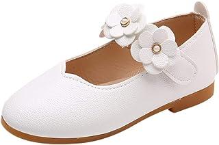 WINJIN Chaussures bébé Fille Princesse Ballerines Mary Jane Chaussures De Danse Chaussures Étudiants Chaussures en Cuir En...