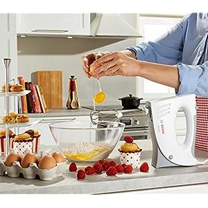 Bosch MFQ3530 Handrührer, Kunststoff, weiß/grau