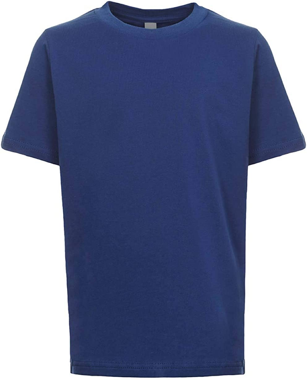 Next Level Kids Crew Neck T-Shirt Royal Blue XL
