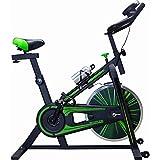CENTURFIT Bicicleta Fija 10 kg Bicicleta Spinning Rueda 10 Kg Excelente Calidad Bicicleta Estacionaria Ajustable Bicicleta Estatica Silenciosa Bicicleta Fija para Ejercicio