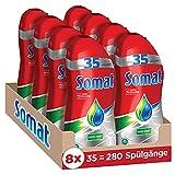 Somat Power Gel, Geschirrspülmittel für die Spülmaschine, 8 x 700 ml gegen Fett und Eingebranntes, für Kurzprogramme geeignet