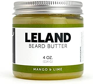 Detroit Grooming Co. - 4oz Mango Lime - Beard Butter Double the Size - Beard Balm - Beard Conditioner