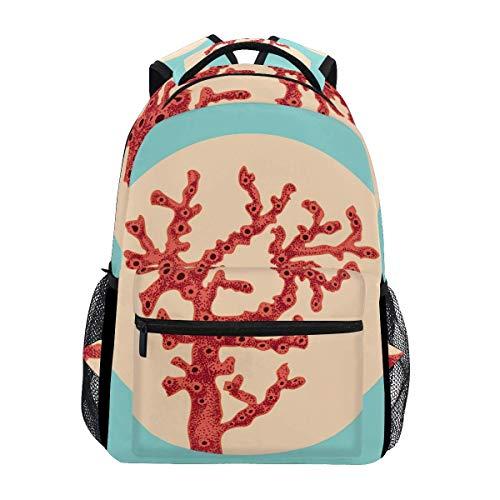 School Bag Skull Lion Skeleton Backpack College Printed School Student Shoulder Bag Casual Unique Lightweight Stylish Durable Travel Gift Bookbag