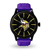 Rico Industries NFL Minnesota Vikings Watch, One Size, Team Color