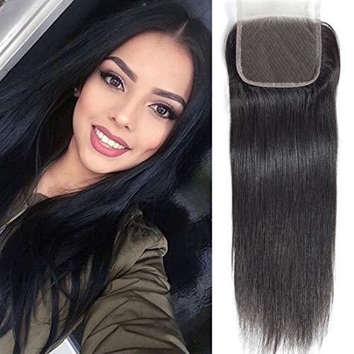 Brazilian Straight Lace Closure Free Part 4X4 Closure 100% Unprocessed Human Virgin Hair Lace Closure