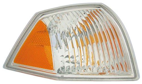 Dorman 1631378 Front Passenger Side Turn Signal/Parking Light Assembly for Select Jeep Models