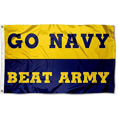 Go Navy Beat Army Football Banner Flag