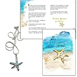 Best Smiling Wisdom Friend Gifts Silvers - Smiling Wisdom - Starfish Story Abalone Necklace Gift Review