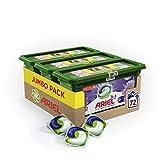 Ariel 3en1 Pods + Touch of Lenor - Lessive Doses - 72 lavages (3x24 Capsules)