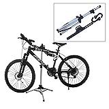 自転車ディスプレイスタンド 自転車スタンド 安定感抜群 折り畳み式 持ち運び便利 高さ調節 角度調節 サイクルハンガー バイクハンガー