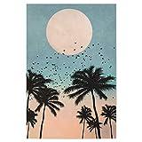 artboxONE Poster 60x40 cm Palmen Abstrakt Sunrise Avenue