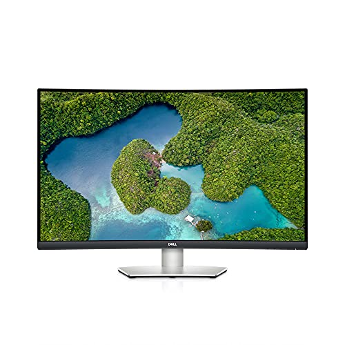 Monitor Dell S3221QS 4K UHD (3840x2160) de 31,5Pulgadas, Pantalla Curva 1800R, 60Hz, VA, 4ms, AMS FreeSync, 99% sRGB, Altavoces Integrados, DisplayPort, 2HDMI, 3USB 3.0, 3años de garantía