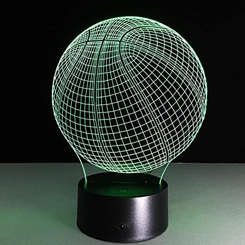 Bola 3D Luce Notturna Che Cambia Colore A Led Per La Decorazione Della Stanza Dei Bambini Luce Fredda Luce Notturna A Led