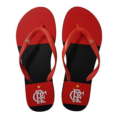 Chinelo Flamengo Feminino Slim Manto 1 Preto 33/34