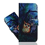 IMEIKONST Flip Case for Huawei Honor 8A, Cool Painted PU
