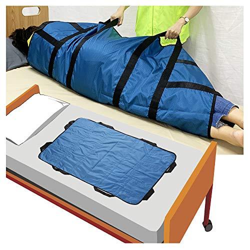 Scheda di trasferimento per pazienti cinghia di trasferimento dispositivi di assistenza per il sollevamento del letto cinghia di trasporto per canne da letto, supporto di posizionamento bariatrico