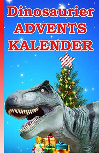 Dinosaurier Adventskalender: 24 Dinosaurier Bilder zum Ausmalen