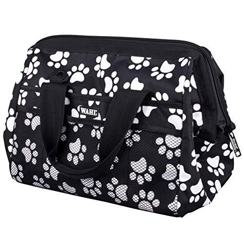 WAHL Fellpflege Reisetasche, weiß Paw Print Muster