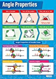 Winkel-Eigenschaften | Mathematik-Diagramme | Glanzpapier
