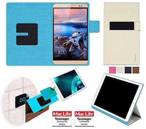 reboon Hülle für Huawei MediaPad X2 Tasche Cover Hülle Bumper | Testsieger | Beige