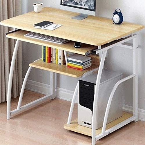 LAA Tabla Simple de PC portátil компьютерный стол Escritorio de la computadora de Oficina en casa Mesa de Estudio fácil Montaje de Mesa Mesas de Ordenador portátil Plegable Mesa Mesa Cama Ruedas