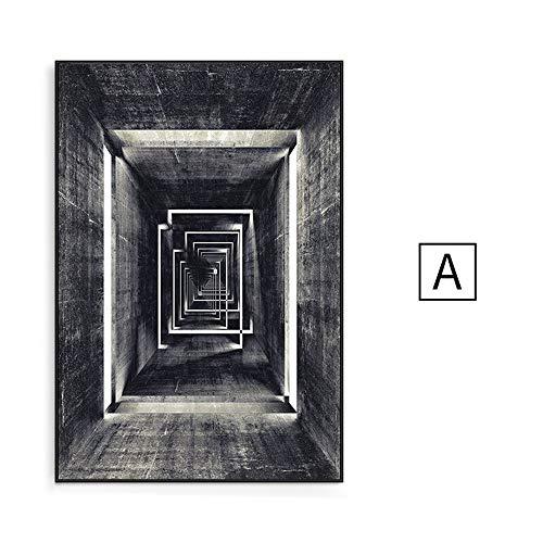 JUE fotolijsten 6 X 4 Frame Rose Gold Wall Art Koper fotolijsten opknoping fotolijsten Wrap Set A