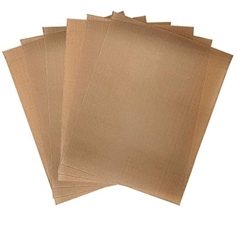 Teflon Sheet for Heat Press, Nonstick Oven Liners, Heat Resistant Craft Mat Transfer Sheet 3 Pack(16 x 12 inch)