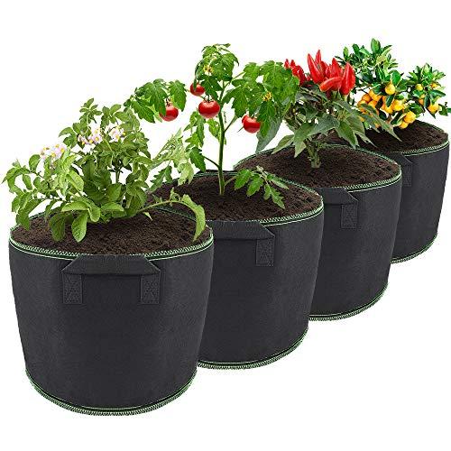 ShawFly - Bolsas de cultivo de patatas (4 unidades, 7 galones)